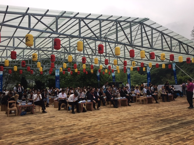 The famous tea and spring culture forum